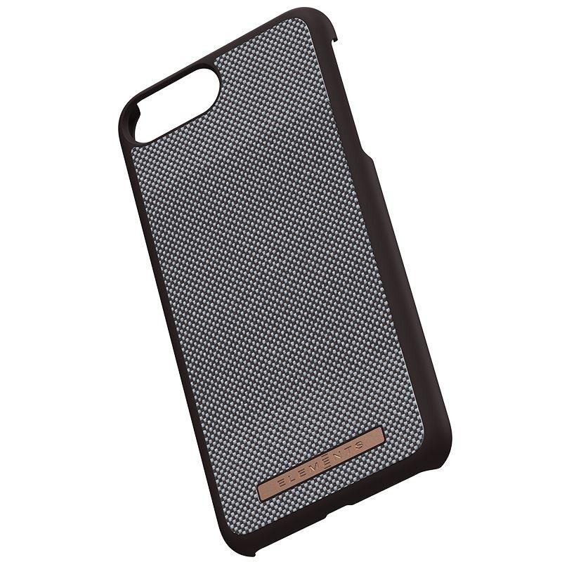 Nordic Elements Saeson Idun - Materiałowe etui iPhone 8 Plus / 7 Plus / 6s Plus / 6 Plus (Dark Brown Pattern 1)