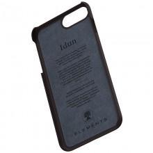 Nordic Elements Saeson Idun - Materiałowe etui iPhone 8 Plus / 7 Plus / 6s Plus / 6 Plus (Dark Brown Pattern 2)
