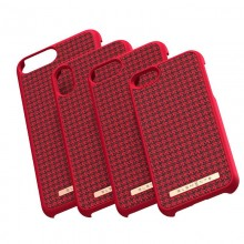 Nordic Elements Saeson Idun - Materiałowe etui iPhone Xs / X (Red)