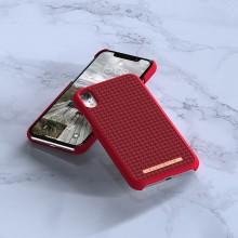 Nordic Elements Saeson Idun - Materiałowe etui iPhone XR (Red)