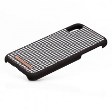 Nordic Elements Saeson Idun - Materiałowe etui iPhone XR (Dark Brown Pattern 2)