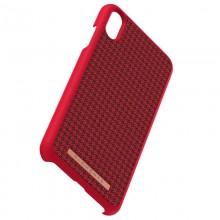 Nordic Elements Saeson Idun - Materiałowe etui iPhone Xs Max (Red)