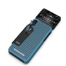 Nordic Elements Saeson Idun - Materiałowe etui iPhone Xs Max (Petrol)