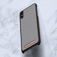 Nordic Elements Saeson Idun - Materiałowe etui iPhone Xs Max (Dark Brown)