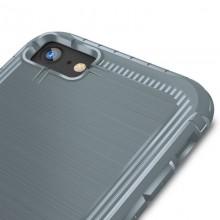 Zizo Dynite Cover - Etui iPhone 8 / 7 ze szkłem 9H na ekran (Gray)