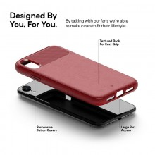 Caseology Vault Case - Etui iPhone XR (Red)