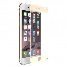 X-Doria Aster Tempered Glass - Szkło ochronne 9H 0,33mm iPhone 7 Plus (złota ramka)