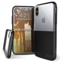 X-Doria Dash - Etui iPhone X (Black Leather)
