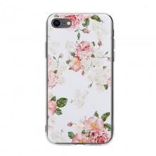 Crong Flower Case – Etui iPhone SE 2020 / 8 / 7 (wzór 02)