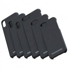 Nordic Elements Original Idun - Materiałowe etui iPhone XR (Dark Grey)