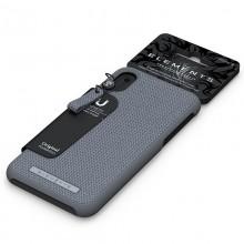 Nordic Elements Original Idun - Materiałowe etui iPhone XR (Mid Grey)