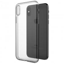X-Doria Gel Jacket - Etui iPhone X (przezroczysty)