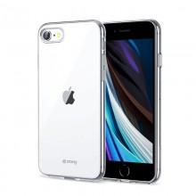 Crong Crystal Slim Cover - Etui iPhone SE 2020 / 8 / 7 (przezroczysty)