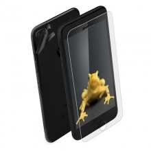 Wrapsol Hybrid - Hartowane szkło ochronne 9H + folia na obudowę do iPhone 7 Plus