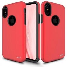 Zizo Sleek Hybrid Cover - Etui iPhone Xs / X (Red)
