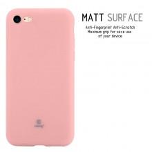 Crong Soft Skin Cover - Etui iPhone SE 2020 / 8 / 7 (różowy)