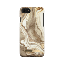 iDeal of Sweden Fashion - etui ochronne do iPhone 8/7/6/6s/SE (Golden Sand Marble)