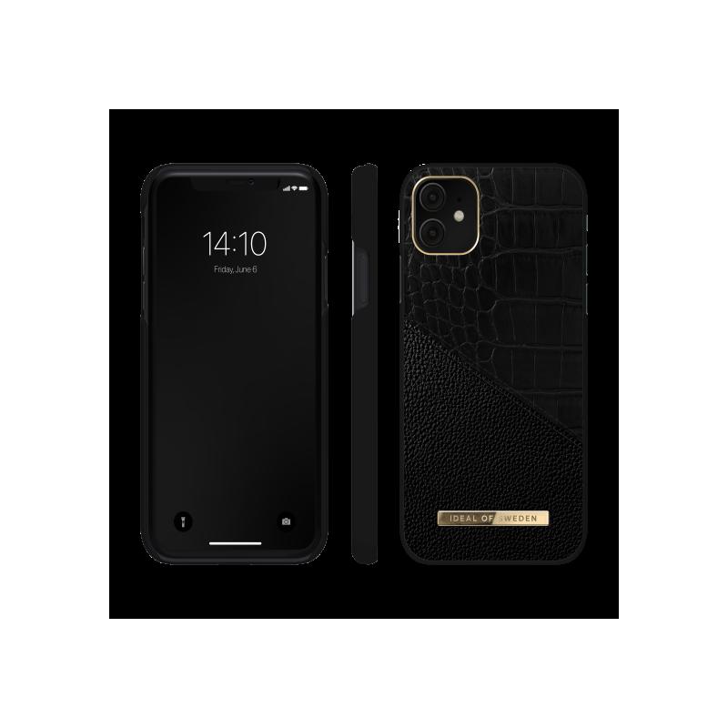 iDeal of Sweden Atelier - etui ochronne do iPhone 11/XR (Nightfall Croco)