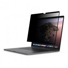 """Moshi Umbra - Folia ochronna na ekran MacBook Pro 16"""" z filtrem prywatyzującym (czarna ramka)"""