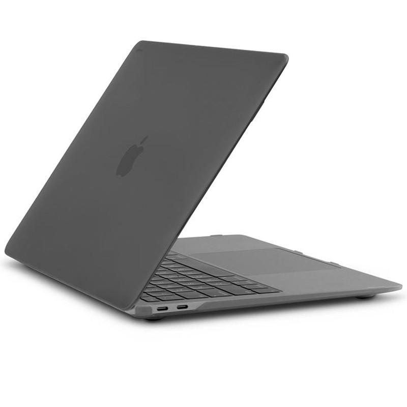"Moshi iGlaze Hardshell Case - Obudowa MacBook Air 13"" Retina (M1/2020/2019/2018) (Stealth Black)"