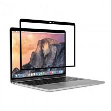 """Moshi iVisor AG - Matowa folia ochronna na ekran MacBook Pro 13"""" (2020/2019/2018/2017/2016) / MacBook Air 13"""" Retina (Black/Clea"""