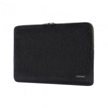 """Tucano Velluto - Pokrowiec MacBook Pro 16"""" / Laptop 15.6"""" (czarny)"""