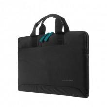 """Tucano Smilza Super Slim Bag - Torba MacBook Air / Pro 13"""" / Notebook 13"""" / 14"""" (czarny)"""
