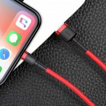 Baseus Cafule Cable - Kabel połączeniowy USB do Lightning, 1.5 A, 2 m (czerwony)
