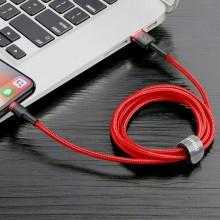 Baseus Cafule Cable - Kabel połączeniowy USB do Lightning, 2.4 A, 1 m (czerwony)