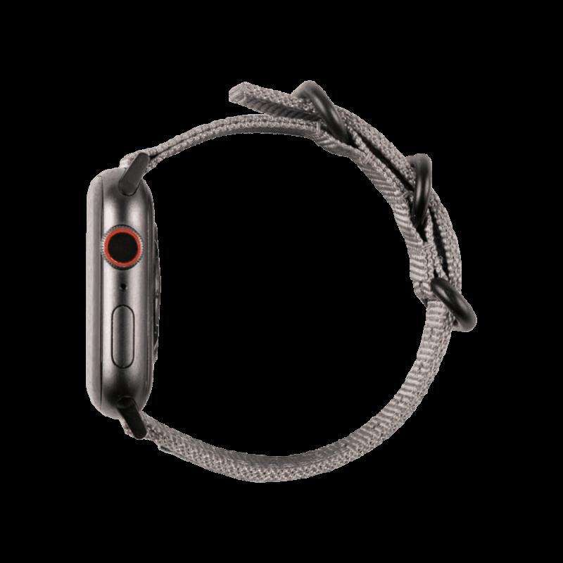 UAG Nato Strap - materiałowy pasek do Apple Watch 42/44mm (szary)