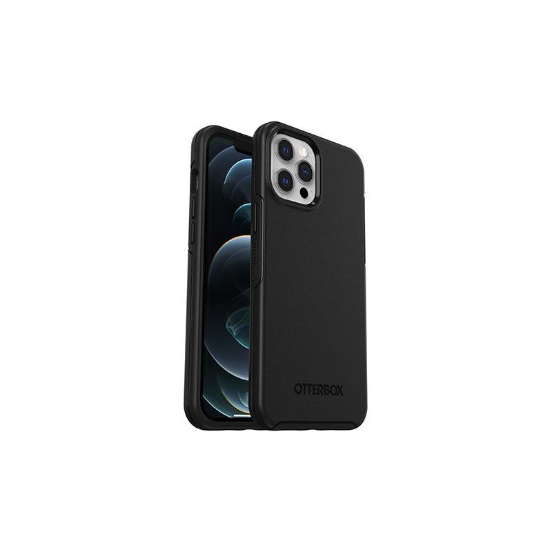 OtterBox Symmetry Plus - obudowa ochronna do iPhone 12 Pro Max kompatybilna z MagSafe (black)
