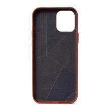 Decoded - obudowa ochronna do iPhone 12 mini z MagSafe (brązowa)