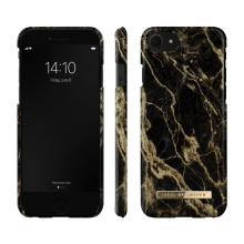 iDeal of Sweden Fashion - etui ochronne do iPhone 8/7/6/6s/SE (Golden Smoke Marble)