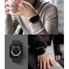 RINGKE SLIM 2-PACK APPLE WATCH 4/5/6/SE 44MM CLEAR & BLACK