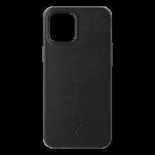 Native Union Classic - skórzana obudowa ochronna do iPhone 12/12 Pro (czarna)