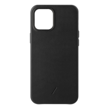 Native Union Classic - skórzana obudowa ochronna do iPhone 12 mini (czarna)