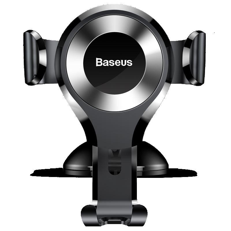 Baseus Osculum - Grawitacyjny uchwyt samochodowy na deskę rozdzielczą (srebrny)