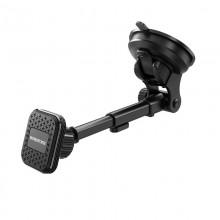 Borofone - Uchwyt samochodowy magnetyczny na szybę i kokpit (Czarny)