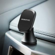 Borofone - uchwyt samochodowy magnetyczny na kokpit, aluminium