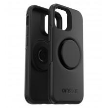 OtterBox Symmetry POP - obudowa ochronna z PopSockets do iPhone12 mini (black)