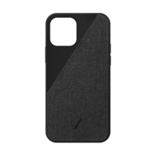 Native Union Canvas - obudowa ochronna do iPhone 12 Pro Max (black)