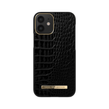 iDeal of Sweden Atelier - etui ochronne do iPhone 12 mini (Neo Noir Croco)