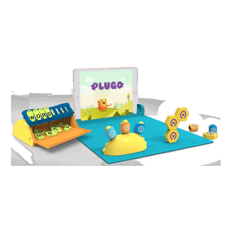 Shifu Plugo STEM Wiz Pack - zestaw klocków z grami AR do nauki matematyki, inżynierii oraz słownictwa