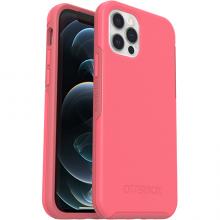 OtterBox Symmetry Plus - obudowa ochronna do iPhone 12/12 Pro kompatybilna z MagSafe (Tea Petal Pink)