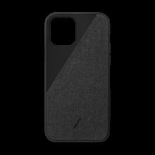 Native Union Canvas - obudowa ochronna do iPhone 12/12 Pro (black)