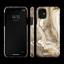 iDeal of Sweden Fashion - etui ochronne do iPhone 11/XR (Golden Sand Marble)