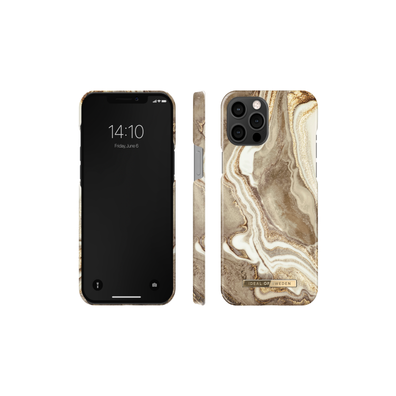 iDeal of Sweden Fashion - etui ochronne do iPhone 12 Pro Max (Golden Sand Marble)