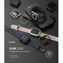 RINGKE SLIM 2-PACK APPLE WATCH 4/5/6/SE 44MM CLEAR & BLUE