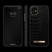 iDeal of Sweden Atelier - etui ochronne do iPhone 11/XR (Neo Noir Croco)