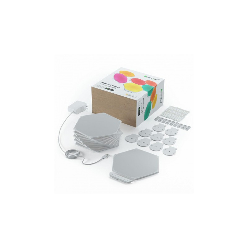 Nanoleaf Shapes Hexagons Starter Kit - panele świetlne (15 paneli, 1 kontroler)